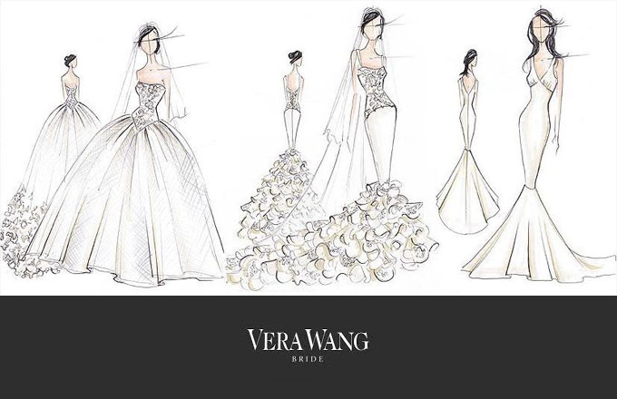 Different Types Of Lines In Fashion Designing : Wedding dress styles ottawa magazine