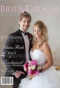 Bride & Groom Magazine cover 2014